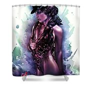 Let The Show Begin Shower Curtain