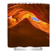 Let The Sunshine In The Canyons Shower Curtain