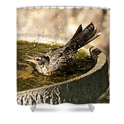 Let The Water Fly Shower Curtain