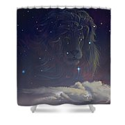 Let The Wind Blow Shower Curtain