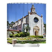 Let There Be Light Knowles Memorial Chapel 1 By Diana Sainz Shower Curtain