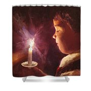 Let Your Light Shine 2 Shower Curtain