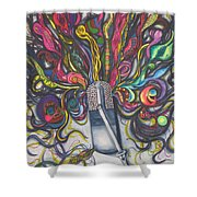 Let Your Music Flow In Harmony Shower Curtain