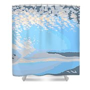 Let Your Spirit Fly Shower Curtain