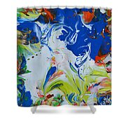 Let Your Spirit Rise Shower Curtain
