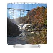 Letchworth High Falls Shower Curtain