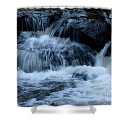 Letchworth State Park Genesee River Cascades Shower Curtain