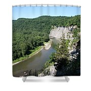 Letchworth State Park Genesee River I Shower Curtain