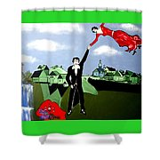 Lets  Fly Away Shower Curtain
