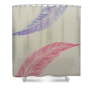 Let's Fly Away Together  Shower Curtain