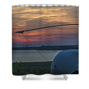Lets Go Flying Shower Curtain