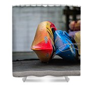 Lets Go Kayaking Shower Curtain