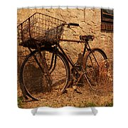 Let's Go Ride A Bike Shower Curtain