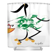 Lets Go Shopping Shower Curtain