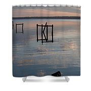 Lets Play Croquet Shower Curtain