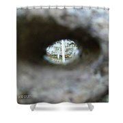 Lets Rock 3 Shower Curtain
