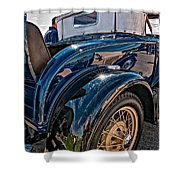 Let's Rumble Shower Curtain by Steve Harrington