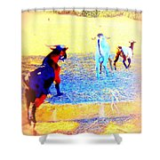 Lets Run Away From Everything And Start A New Life  Shower Curtain