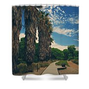Let's Walk This Path Together Shower Curtain
