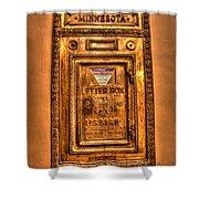 Letter Box Shower Curtain