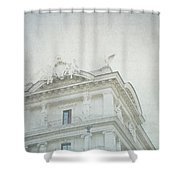 Letters From Roma II Shower Curtain