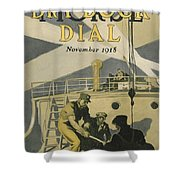 Letters To Our Boys In France Shower Curtain by Edward Hopper