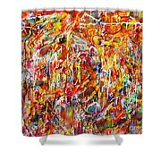 Letting Go Shower Curtain