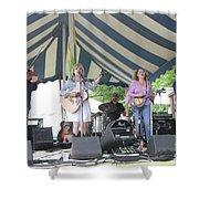 Levon Helm's Dirt Farmer Band Shower Curtain