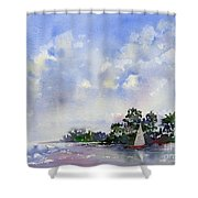 Leeward The Island Shower Curtain