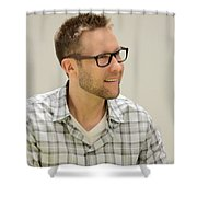 Lex Luthor Shower Curtain