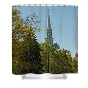 Lexington Battlefield  Shower Curtain