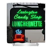 Lexington Candy Shop Shower Curtain