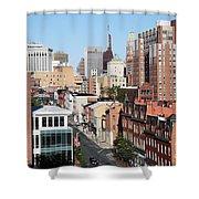Lexington Street Shower Curtain