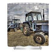 Leyland Tractors  Shower Curtain