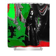 Libertad Lady Number 1  Collage C.1880 Tucson Arizona 1880-2005 Shower Curtain