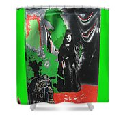 Libertad Lady Number 2 Stove Lady Collage C.1880 Tucson Arizona 1880-2008 Shower Curtain