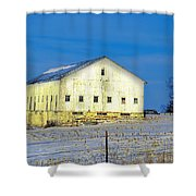 Liberty Barn Shower Curtain