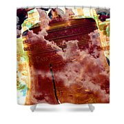 Liberty Bell 3.1 Shower Curtain
