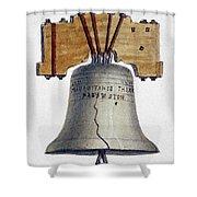 Liberty Bell Shower Curtain
