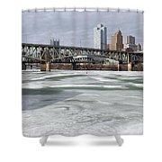 Liberty Bridge # 1 Shower Curtain