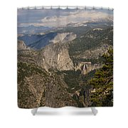 Liberty Cap And The Falls Shower Curtain