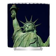 Liberty New York Casino Shower Curtain