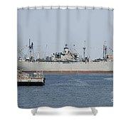 Liberty Ship Ss John W. Brown Shower Curtain
