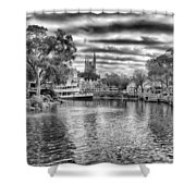 Liberty Square Riverboat Shower Curtain