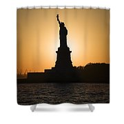 Liberty Sunset Shower Curtain