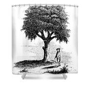Liberty Tree, 1765 Shower Curtain
