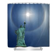 Liberty's Halo Shower Curtain