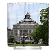 Library Of Congress - Thomas Jefferson Building Shower Curtain