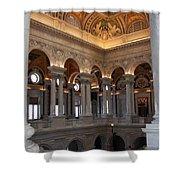 Library Of Congress Washington Dc Shower Curtain