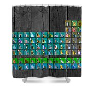License plate art recycled periodic table of the elements by design license plate art recycled periodic table of the elements by design turnpike shower curtain urtaz Choice Image